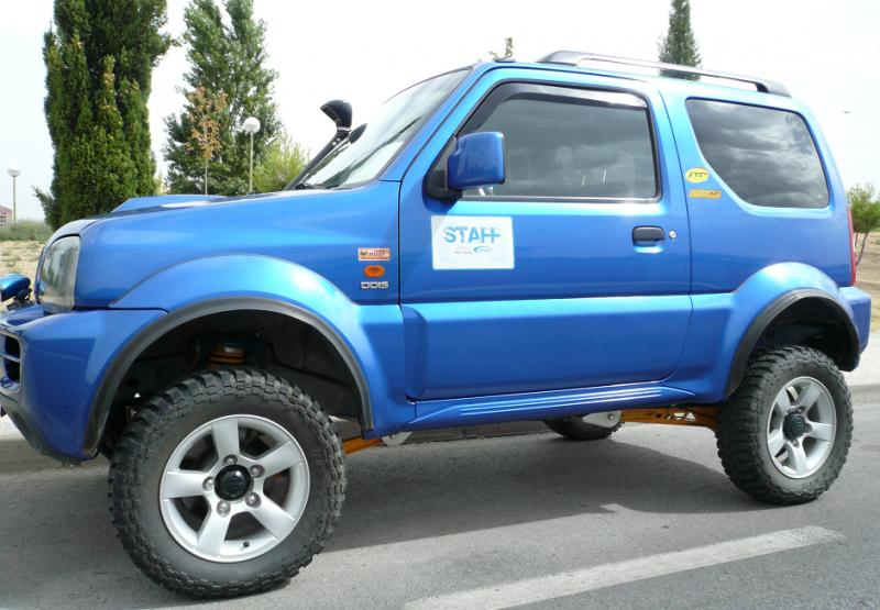 suzuki jimny diesel 3p rally 4x4 noticias eventos foros todoterreno videos fotos dakar. Black Bedroom Furniture Sets. Home Design Ideas